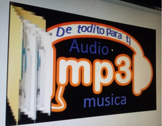 Carpetas Ful De Musica Y Audo Mp3 De 2gb Para Tu Fiestas