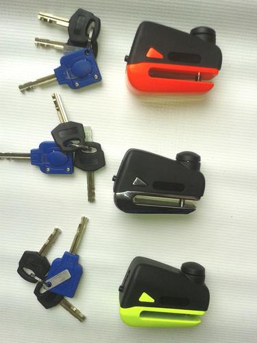 Candados Para Moto Disco Freno Pequeño Pin 5.5mm Universal