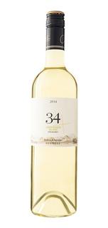 Vino Tinto 34 Sauvignon Blanc 750 Ml