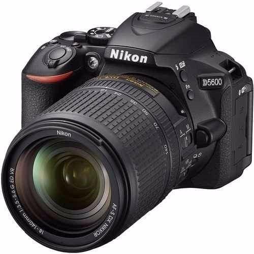 Nikon Dsrl D5600 24.2mp Lente Af-s 18-140mm Vr P/ Entrega