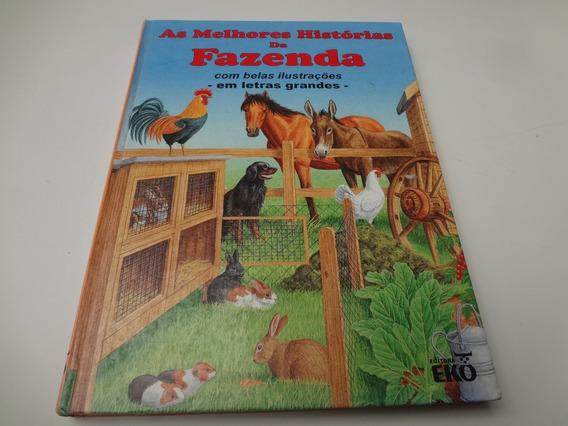 Livro As Melhores Historias Da Fazenda