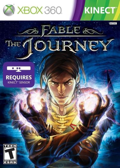 Jogo Fable The Journey - Xbox 360 Mídia Física Novo