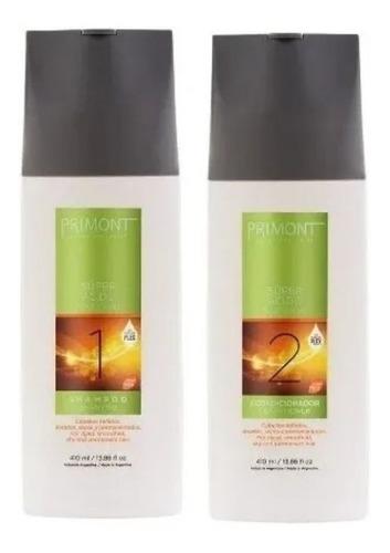 Primont Súper Ácido Shampoo + Acondicionador 410ml