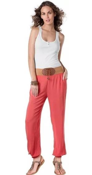 Koketo Pantalon De Mujer Playero Color Coral 128099