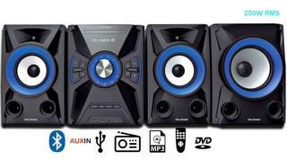 Minicomponente Ken Brown Dx-570 Subwoofer Bluetooth Dvd Cd