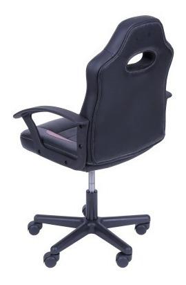 2 Cadeiras Office Gamer Preta C/ Vermelha Or3319 - Or Design
