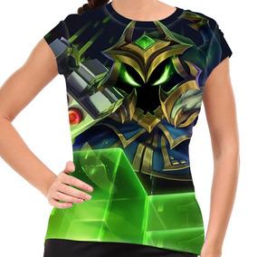 Camiseta League Of Legends Veigar Chefão Final Baby Look