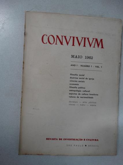 Convivivm Nº 1! Maio 1962! Revista De Investigação E Cultura