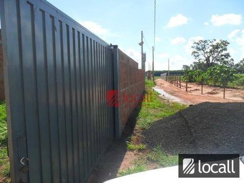 Chácara Com 1 Dormitório À Venda, 900 M² Por R$ 200.000,00 - Zona Rural - Onda Verde/sp - Ch0004