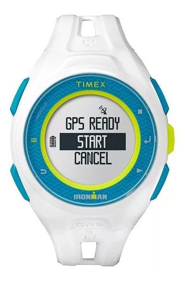 Relógio Timex Masculino Run X20 Gps Tw5k95300ra/i - (branco)
