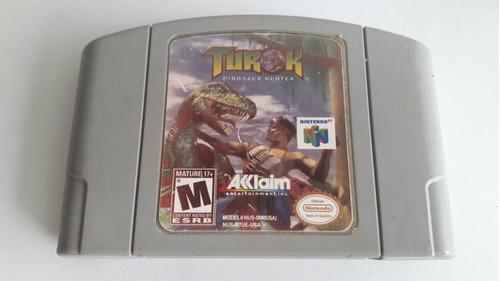 Turok N64 Original Nintendo 64
