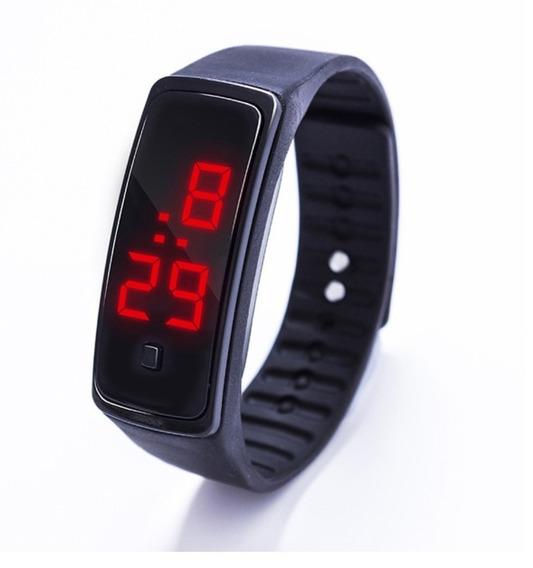 Kit 10 Relógio Digital De Pulso Masculino Feminino Criança