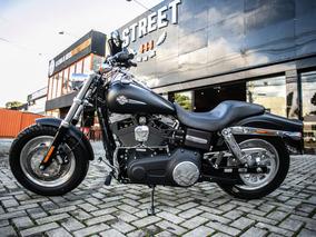 Fat Bob - Preta 2012 - Harley - Davidson