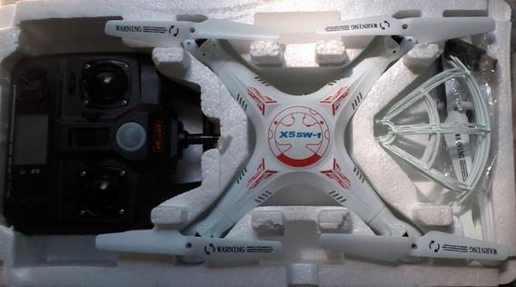 Drone X5sw-1 2.4ghz 6-axisc/câmera Bateria E Carregador Usb