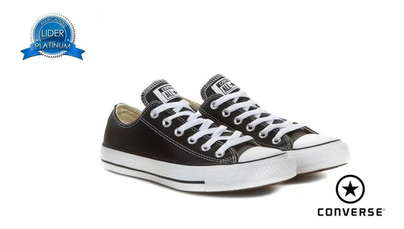 Zapatillas Converse All Star Ox Blanco Negro Rojo Originales