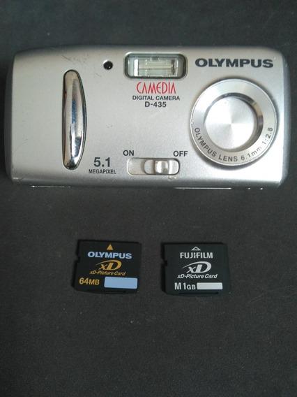 Câmera Digital Olympus D-435 - 5mp + 2 Cartões