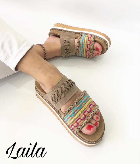 Sandalias De Mujer Con Plataforma Indu Laila