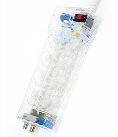Clamper Multi Proteção 8 Tomadas Protetor Dps Raios Surtos