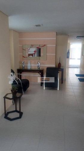 Apartamento Residencial À Venda, Vila Euclides, São Bernardo Do Campo. - Ap3817
