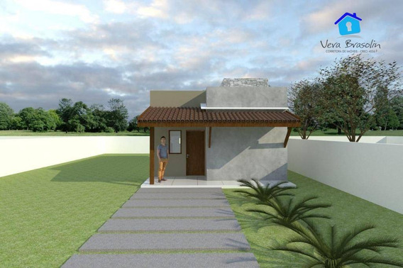 Casa Com 2 Dormitórios À Venda, 70 M² Por R$ 165.000 - Praia Do Amor - Conde/pb - Ca0488