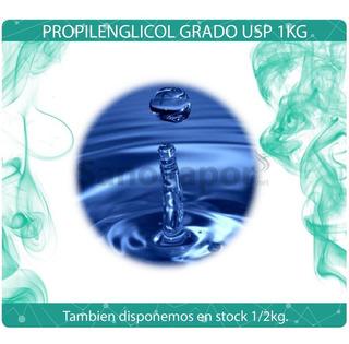 Propilenglicol Grado Usp (consumo Humano) 1kg Sanovapor