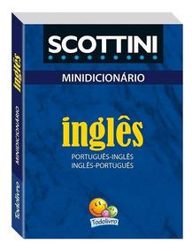Minidicionário Inglês Scottini - Todolivro