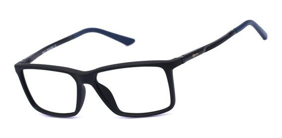 Armação Oculos Ogrife Og 1742-c Masculino Acetato Metal