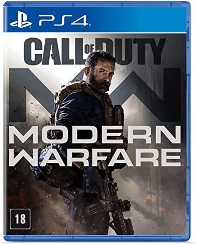 Jogo Ps4 Call Of Duty Modern Warfare Game Novo