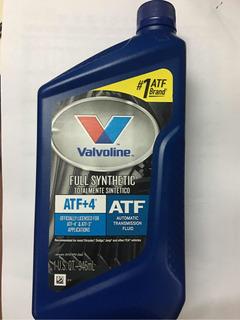 Aceite Valvoline Atf +4 Transmision Automatica - Sintetico