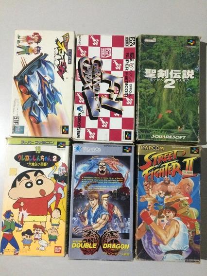 Caixas E Cartuchos Super Nintendo
