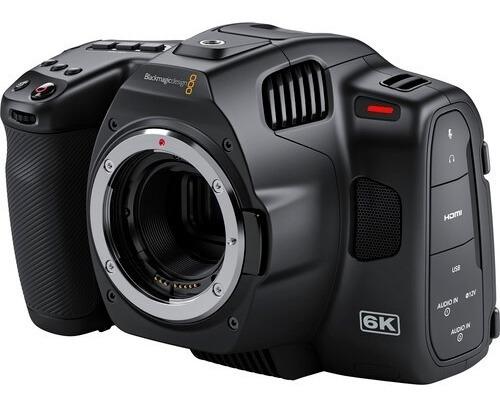 Camera Blackmagic Pocket Camera 6k Pro Em 12x C/ Recibo
