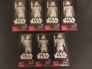 Star Wars Snowtrooper Hasbro Ultimas Piezas