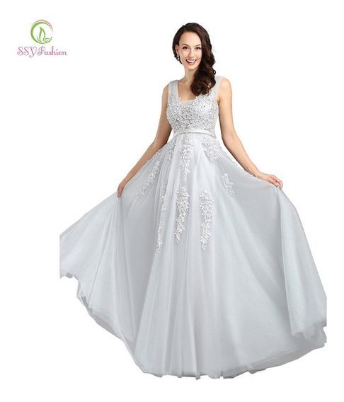 Vestido Longo Madrinhas Debutantes Formandas Casamentos 5h