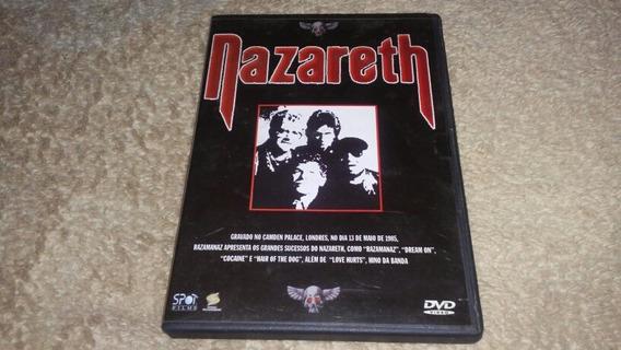 Dvd Nazareth Live 1985 Usado Bom Estado Original Frete 10.00