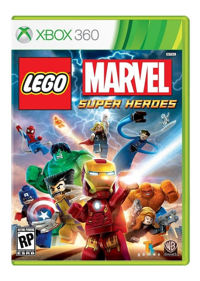 Lego Marvel Super Heroes Xbox 360 Mídia Física
