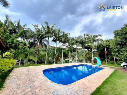 Chácara Com 3 Dormitórios À Venda, 2200 M² Por R$ 498.000,00 - Guaxinduva - Atibaia/sp - Ch1443