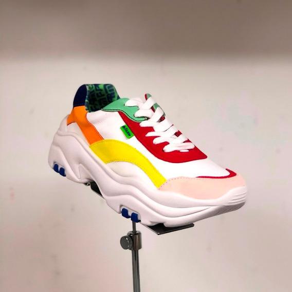 Tênis Farm Branco Colorido Chunky Sneaker - Berti Maria