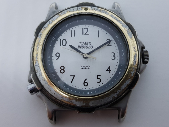 Timex Indiglo Quartz Para Conserto 02 Cx14