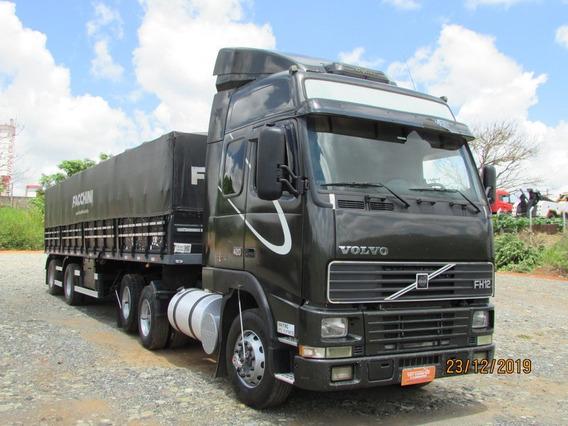 Volvo Fh 420 6x2 Carreta 2 Eixos Vanderleia Graneleira