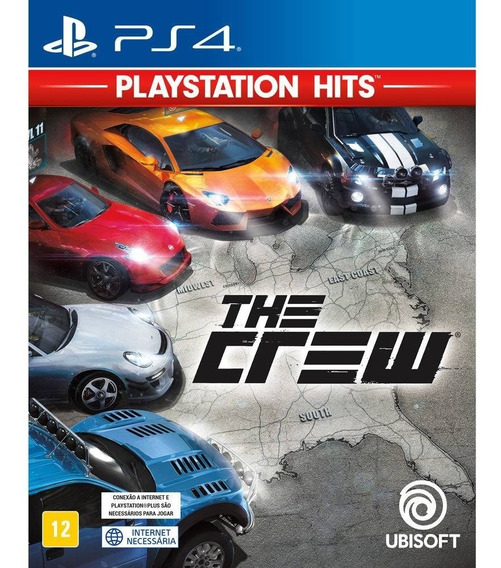 Game The Crew (versão Em Português) Mídia Física Hits - Ps4