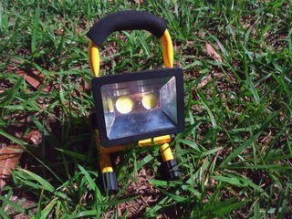 Refletor Portátil Led Recarregável 30w Holofote Lanterna