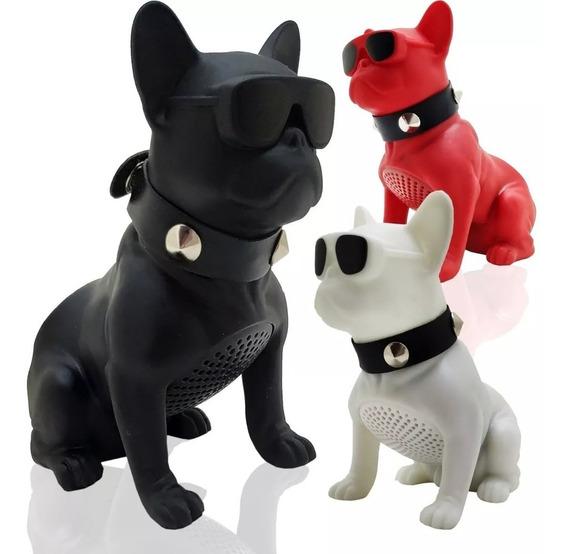 Caixa De Som Portátil Bluetooth Em Formato De Cachorro