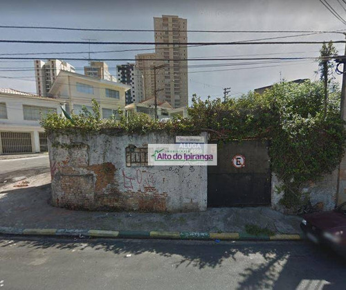Terreno, 100 M² - Venda Por R$ 2.500.000,00 Ou Aluguel Por R$ 4.000,00/mês - Vila Brasílio Machado - São Paulo/sp - Te0011