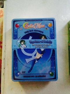 Sailor Moon Talk Box Caja Metálica Venus Y Mercury