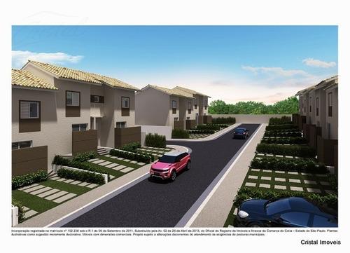 Imagem 1 de 11 de Casa Para Venda, 2 Dormitórios, Parque Rincão - Cotia - 23906