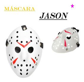 a2018e7cc 10 Máscaras Jason Martes 13 Pvc Careta Disfraz Fiesta Terror