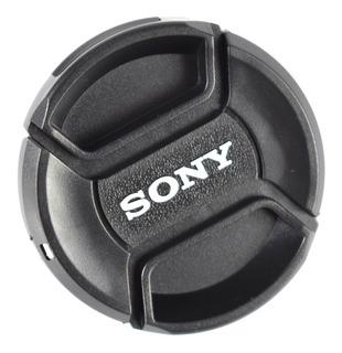 Tapa De 55mm Para Lente Sony - Incluye Correa