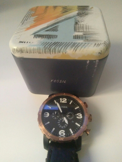 Relógio Fóssil Jr - 1369 Certificado De Originalidade Top!!!