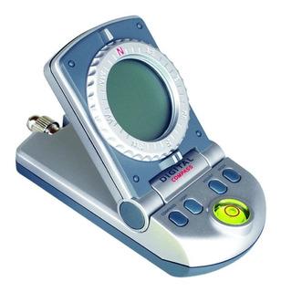 Bússola Digital C/ Relógio Termômetro 2111 Csr Profissional