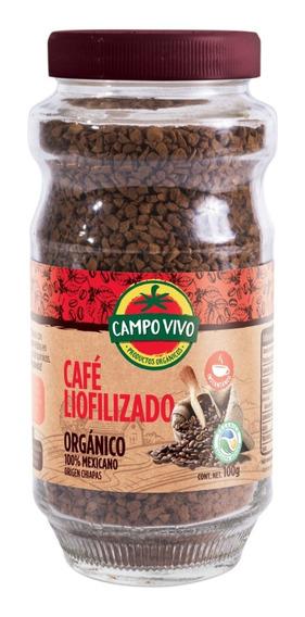 Café Liofilizado Instantáneo Orgánico Campo Vivo 100g